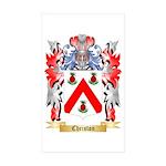 Christon Sticker (Rectangle 50 pk)