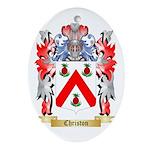 Christon Ornament (Oval)