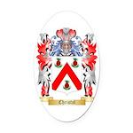 Christol Oval Car Magnet