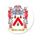 Christol Round Car Magnet