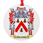 Christofor Round Ornament