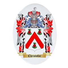Christofor Ornament (Oval)