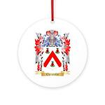 Christofor Ornament (Round)