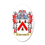 Christofol 35x21 Oval Wall Decal