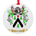 Christofis Round Ornament
