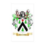 Christofis Sticker (Rectangle 50 pk)