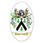 Christofis Sticker (Oval 10 pk)