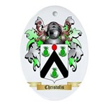 Christofis Ornament (Oval)