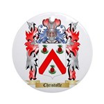 Christoffe Ornament (Round)