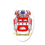 Christmas Oval Car Magnet