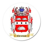 Christmas Round Car Magnet