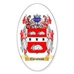 Christmas Sticker (Oval 10 pk)