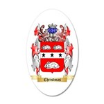 Christmas 20x12 Oval Wall Decal