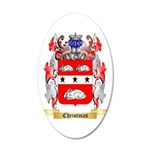 Christmas 35x21 Oval Wall Decal