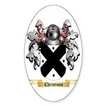 Christison Sticker (Oval 10 pk)