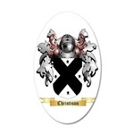 Christison 35x21 Oval Wall Decal