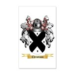 Christison 20x12 Wall Decal