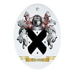 Christine Ornament (Oval)