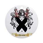 Christin Ornament (Round)
