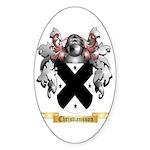 Christiansson Sticker (Oval 50 pk)