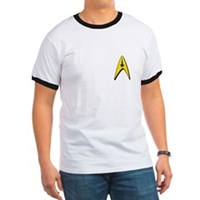Star Trek Captains Badge Chest Ringer T
