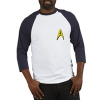 Star Trek Captains Badge Chest Baseball Jersey