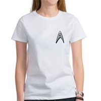 Star Trek Engineer Badge Chest Women's T-Shirt