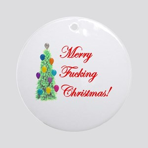 Adult Christmas Ornament (Round)