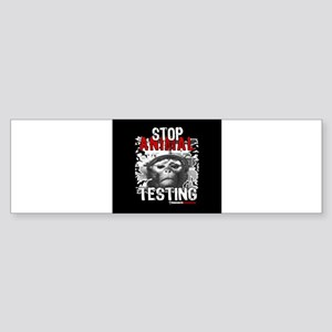stop-animal-testing-pins-small-01 Bumper Sticker