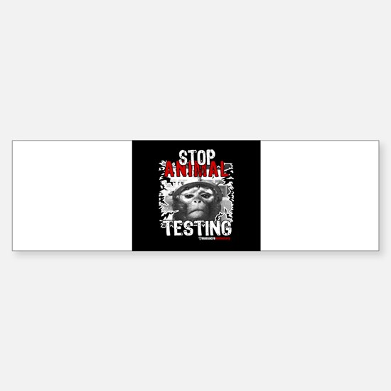stop-animal-testing-pins-small-01 Bumper Bumper Bumper Sticker