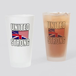 United Strong Drinking Glass