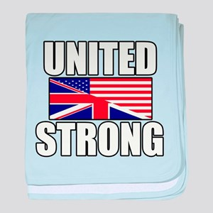 United Strong baby blanket