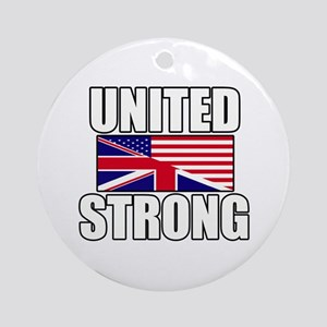 United Strong Ornament (Round)