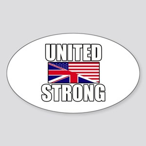 United Strong Sticker (Oval)