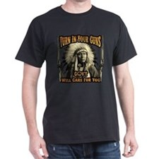 Turn In Your Guns Dark T-Shirt