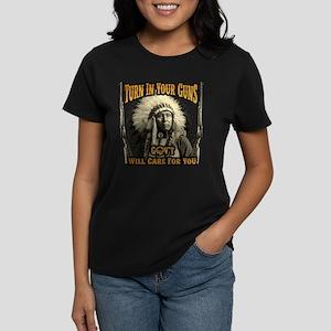 Turn In Your Guns Women's Dark T-Shirt