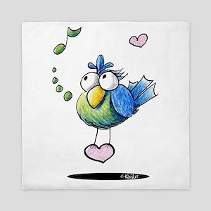 KiniArt Songbird Queen Duvet