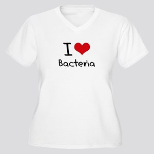 I Love Bacteria Plus Size T-Shirt