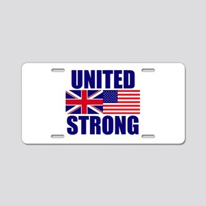 United Strong Aluminum License Plate