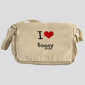 I Love Baggy Messenger Bag