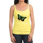 Blue with Red Butterfly Jr. Spaghetti T