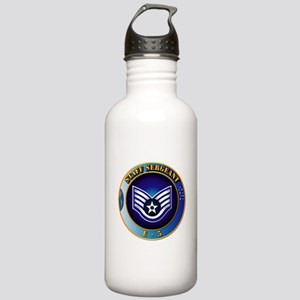 Staff Sergeant (SSgt) Stainless Water Bottle 1.0L