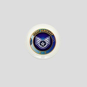 Staff Sergeant (SSgt) Mini Button