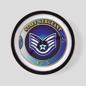Staff Sergeant (SSgt) Wall Clock