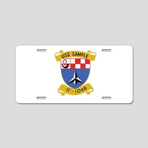 SHIPS CREST Aluminum License Plate