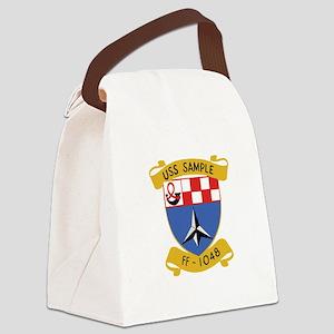 SHIPS CREST Canvas Lunch Bag