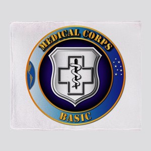 Medical Corps - Basic Throw Blanket