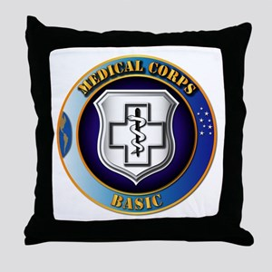 Medical Corps - Basic Throw Pillow