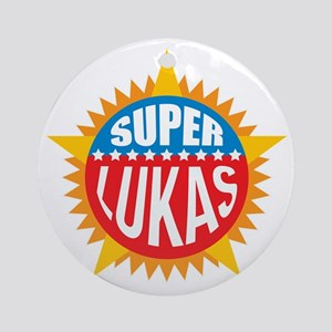 Super Lukas Ornament (Round)