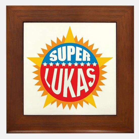 Super Lukas Framed Tile